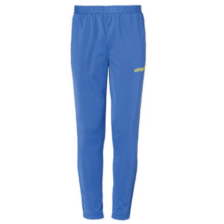 Score Track Pants Azure / Lime Yellow